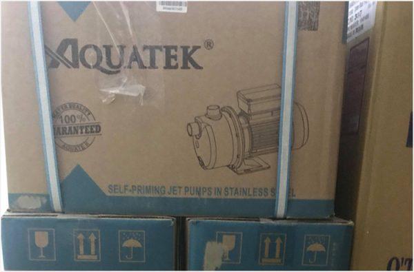 Booster Pump Product Water Aquatek or equivalent 1 HP