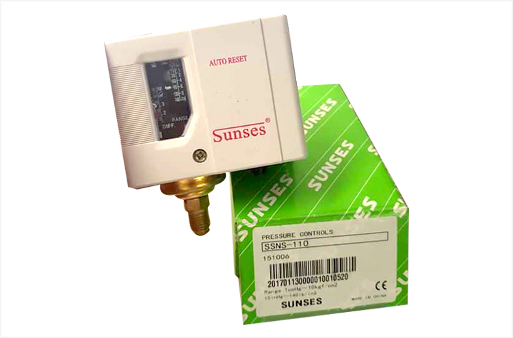 Pressure Switch, Low, for RO Pump Suction Control