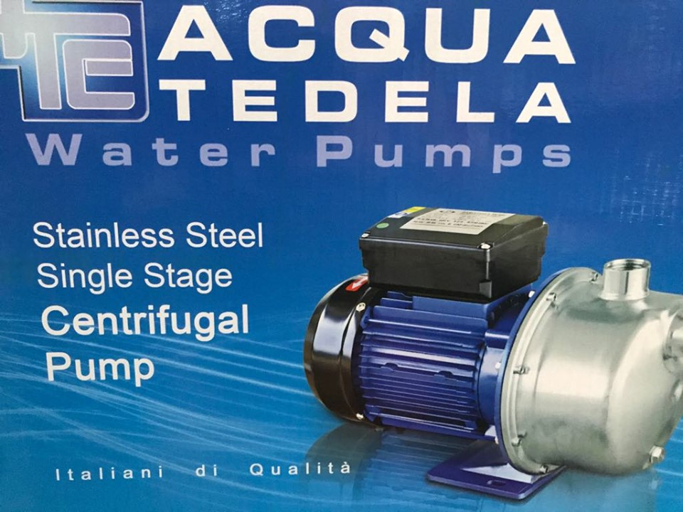Booster Pump Raw Water