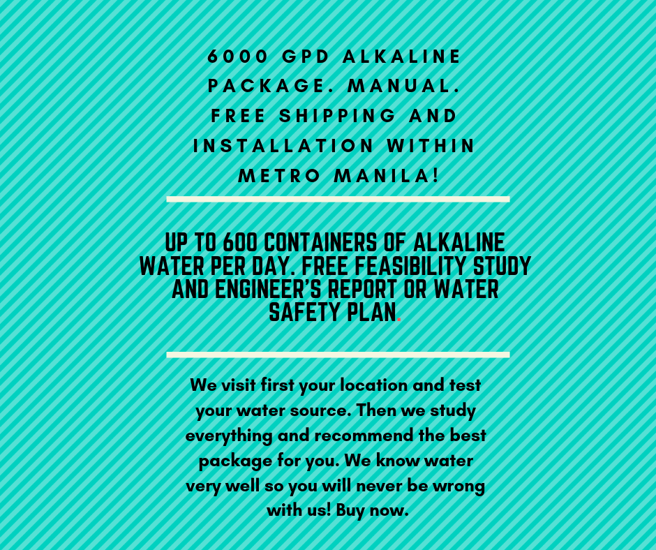 Water Refilling Station Package 15