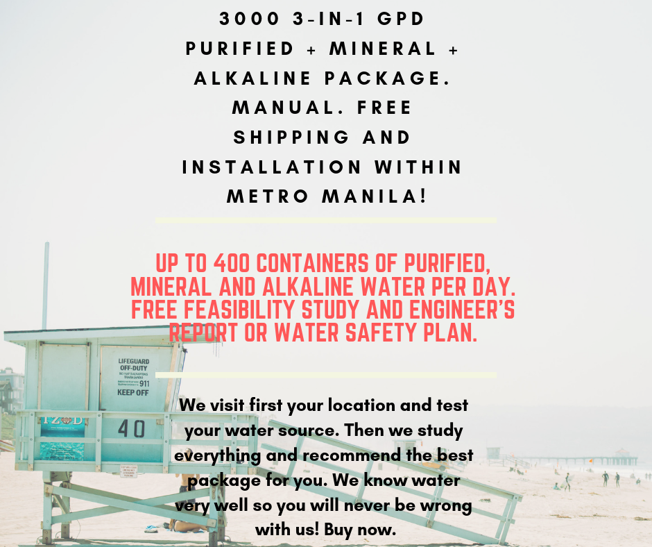 Water Refilling Station Package 5